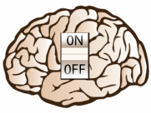 PTSD Brain with Off switch